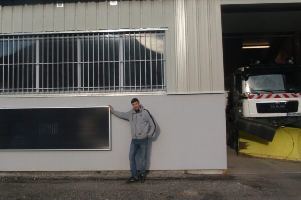 capt'air solaire SV30 horizontal